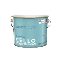 CELLO CRISTAL AQUA KALUSTEMAALI PM3 2,7L