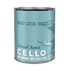 CELLO CRISTAL AQUA KALUSTEMAALI PM3 0,9L